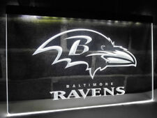 Baltimore Ravens Sports 3D Drink LED Neon Sign Light Plate Flag Bar Club Pub