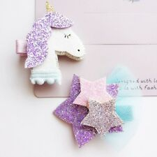 2 Pcs Lovely Star Girls Hair Clips Hairpins Hair Accessories For Kids Baby Girls