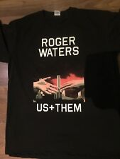 Roger WATERS US AND THEM TOUR T SHIRT BACK AND FRINT PRINT CONCERT T SHIRT