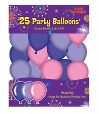 Children Assorted Party Pink Balloons Pack Of 25 Kids Fancy Party Accessory