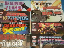 Marvel Comics DEADPOOL 'The Merc With A Mouth!' Team-Ups! Thanos, You Choose!