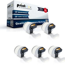 5x Premium Rotolo Etichette per Brother DKN55224 INFINITE label-easy Stampa