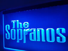 The Sopranos Movie Crime Drink LED Neon Sign Light Plate Flag Bar Club Pub Gift