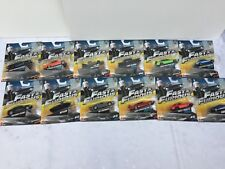 Fast and Furious Mattel 1/55 Diecast Model Car Hot Wheels. No12 No9 Sold Out