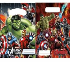 Kids Avengers Hero Party Bags Children Summer Festive Party Decoration Pack OF 6