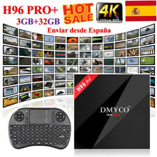 H96 Pro+ Android 7.1 TV Box Octa Core Amlogic S912 3GB+ 32GB 5G WIFI 4K Streamer