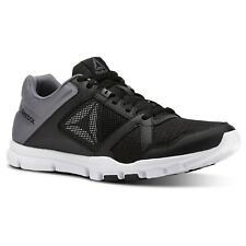 Reebok Yourflex Train 10 M black-shark-white - Trainingsschuh Herren  Turnschuh a4f281bfb