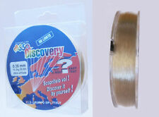 Asso Discovery Fluorocarbon Coated Fishing Line 250 m Spools High Strength