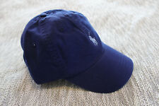 Polo ralph lauren Men blue cotton chino sports baseball Cap hat One Size