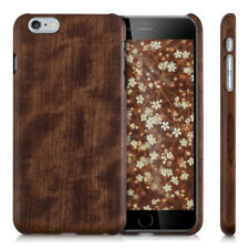 FUNDA DE MADERA PARA APPLE IPHONE 6 PLUS 6S PLUS NATURAL CARCASA PROTECTORA