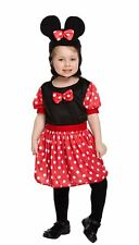 Toddler Mouse Girl Fancy Party Complete Costume Child World Book Day Wear Outfit