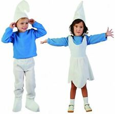 Girls Boys Elf Fancy Party Dress Up Outfit Children Smurf Gnome Complete Costume
