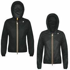K-Way LILY CRINKLE DOUBLE LASERED giacca reverse KWAY DONNA Variable Meteo K02va