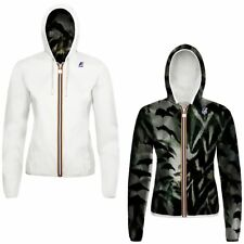 K-WAY LILY PLUS DOUBLE GRAPHIC giacca reverse KWAY ZIP DONNA Negozio NEWS 901bax