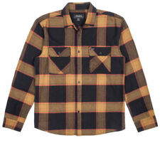 Brixton Bowery Flannel Shirt Mens Unisex Flannel New