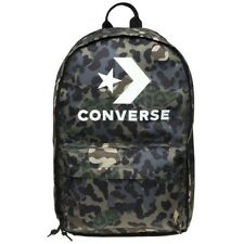 New Mens Converse Green Edc Polyester Backpack Backpacks