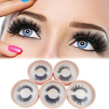 FM- 1 Pair Faux Mink Eyelashes Natural 3D False Lashes Handmade Eye Makeup Candy