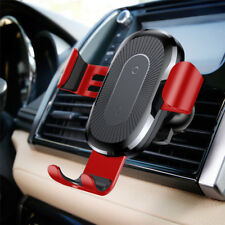 Baseus 2-in-1 Car 10W QI Wireless Charging Charger Mount Phone Holder Stand