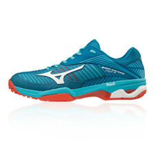Mizuno Mens Wave Exceed Tour 3 All Court Tennis Shoes Blue Sports Breathable