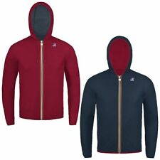 K-WAY JACQUES PLUS DOUBLE giacca reverse KWAY BAMBINO Variable Meteo News 997gjw