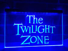 Twilight Zone ZONA Movie Drink LED Neon Sign Light Plate Flag Bar Club Pub Gift