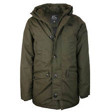 Vintage Industries Parka Roysten Giacca Giacca Invernale Uomo Oliva