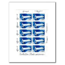 PA N°_63 AIRBUS A300-B4 LUXE feuille COLLECTOR 10 timbres