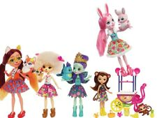 Enchantimals 6-inch dolls various designs and fashion and accessories
