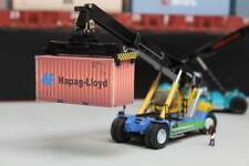 HAPAG LLOYD WEATHERED 20FT SHIPPING CONTAINER MODEL OO HO N GAUGE PRE CUT CARD
