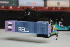 BELL 40FT SHIPPING CONTAINER MODEL OO HO N GAUGE PRE CUT CARD DESIGNS