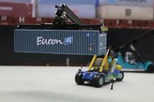 EUCON 40FT SHIPPING CONTAINER MODEL OO HO N GAUGE PRE CUT CARD DESIGN