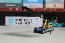 MAERSK SEALAND 40FT SHIPPING CONTAINER MODEL OO HO N GAUGE PRE CUT CARD DESIGN