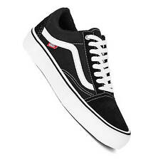 Vans Old Skool pro Negro Blanco Skate pro Zapatos Ultracush Suela