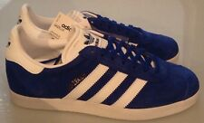 ADIDAS GAZELLE TRAINERS - BLUE/WHITE - S76227 - MEN'S SIZES FROM UK 6.5 TO 9.5