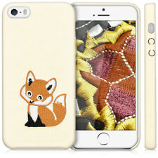 kwmobile SOFT CASE FUNDA PARA APPLE IPHONE SE 5 5S COVER TRASERO CON BORDADO