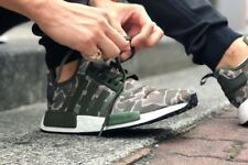 adidas NMD_R1 - 'Duck Camo' Trace Cargo & Base Green Trainers All Sizes Bape