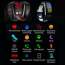 IP68 Smartwatch Reloj Inteligente Impermeable Ritmo Cardiaco Blood Pressure 0.96
