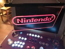 Nintendo Game LED Neon Sign OnOff Switch gamer Room Bar Bar light sign decor