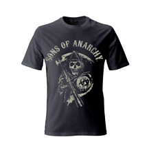 Offiziell Sons Of Anarchy Reaper SoA UOMO T-Shirt