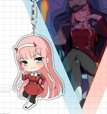 DARLING in the FRANXX DITF Cute Acrylic Pendant Keychains Phone Charm Cosplay UK