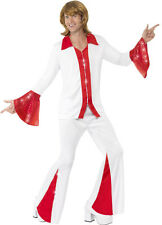 Super Trooper Homme Costume Blanc/Rouge Neuf - Homme Carnaval Déguisement