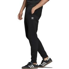 Pantalon Fleece Slim Chandal Negro de Adidas Clothes