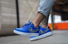 Nike Air Force 1 Low 07 LV8 - Game Royal, Wolf Grey & White Trainers All Sizes