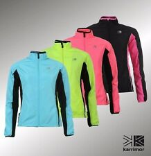Ladies Branded Karrimor Lightweight Breathable Full Zip Running Jacket Size 6-18