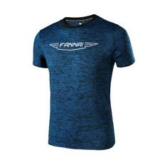 Men's Casual Running Gym T shirt Fitness Bodybuilding Workout Top
