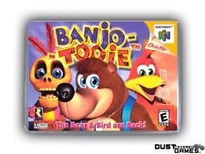 Banjo Tooie N64 Nintendo 64 Game Case Box Cover Brand New Professional Quality!!