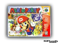 Mario Party N64 Nintendo 64 Game Case Box Cover Brand New Professional Quality!!