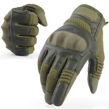 Attack Style Hard Knuckle Full Finger Gloves Tactical Hunting Airsoft Paintball