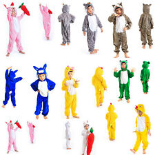 bei bambini pigiama kigurumi cartoon cosplay animale costume pigiama tuta