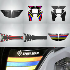 3D Motorcycle Waterproof Gas Fuel Tank Pad Protector Sticker Decal For CBF190